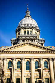 Illinois State Capitol in Springfield