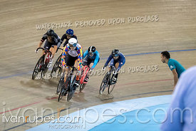 Women Keirin 1-6 Final. Canadian Track Championships, Saturday Morning Session, September 29, 2018