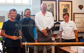 Prize-giving at Weymouth Regatta 2018, 20180909027.