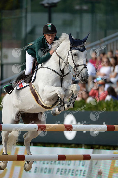 Bertram ALLEN ,(IRL), MOLLY MALONE V during Longines Cup of the City of Barcelona competition at CSIO5* Barcelona at Real Clu...