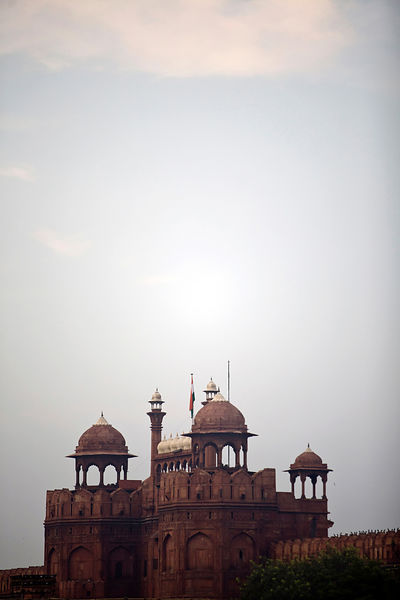 India - Delhi - The Red Fort, Lal Qila, Old Delhi,