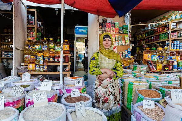 Store Owner at the Jayma Bazaar