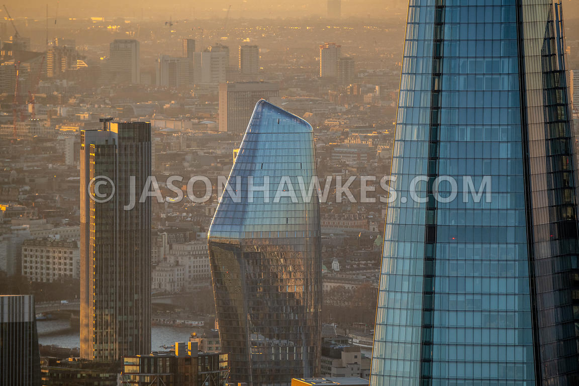 One Blackfrairs, SouthBank Tower, The Shard