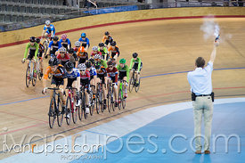 U17 Men Scratch Race. Canadian Track Championships (U17/Junior), April 3, 2016