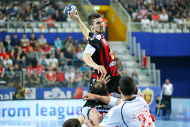 Alex DUJSHEBAEV of Vardar during the Final Tournament - Final Four - SEHA - Gazprom league, semi finals match, Varazdin, Croa...