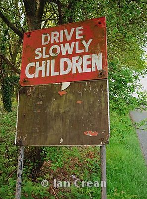 Drive Slowly Children