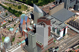 Den Haag City Skyline, Netherlands