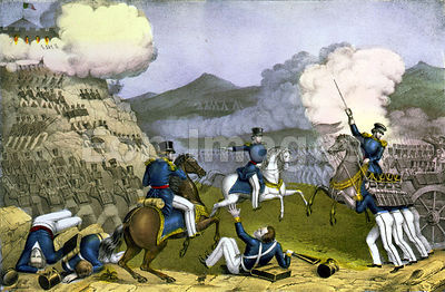 Battle of Monterrey during Mexican-American War