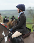 At the meet. The Cottesmore Hunt at Bleak House 18/12