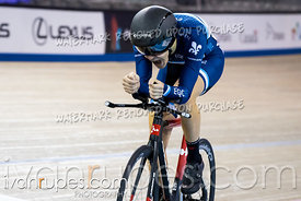 U17 Men Pursuit 3-4 Final. Canadian Track Championships (Jr/U17/Para), April 13, 2018
