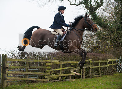 Fiona Gibson - The Cottesmore Hunt at Ranksborough 22/11/11