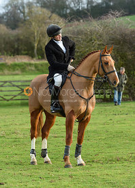 Will Grant At the Meet. The Belvoir Hunt at Sheepwash 29/12