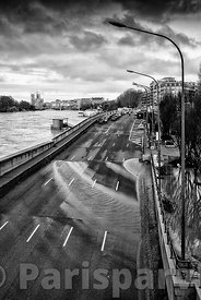 Floods of the Seine in January, 2018