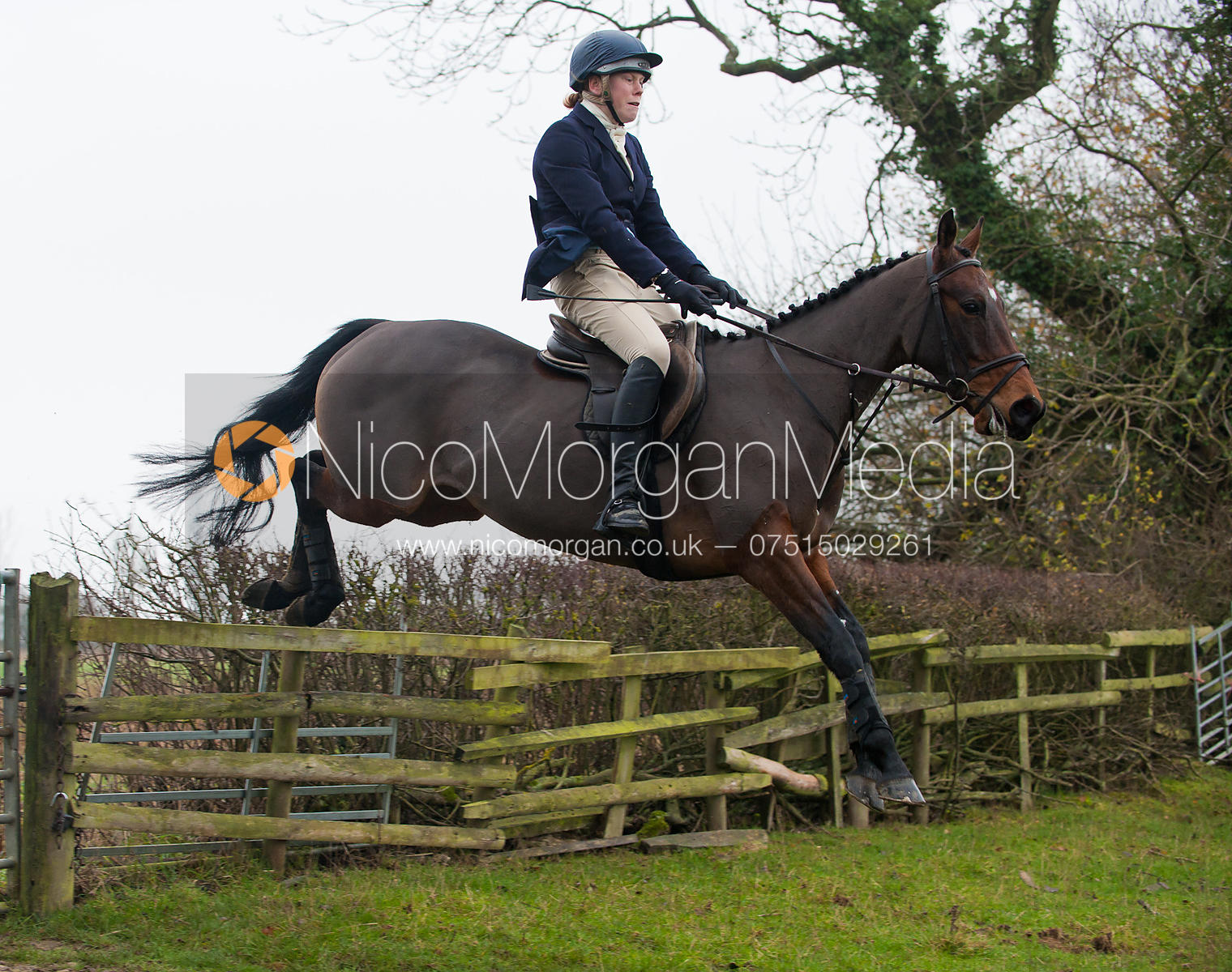 The Cottesmore Hunt at Ranksborough 22/11/11