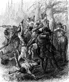 Battle of Tippecanoe during War of 1812