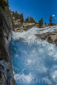 Horsetail Falls along Pyramid Creek in the Desolation Wilderness