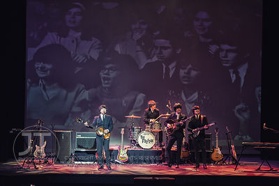 Hoopla - The Fab Four, Englert Theatre, March 6, 2015