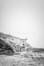 Laguna Beach Crystal Cove Lifeguard Tower #11