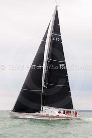 Lutine, GBR809, X 55, Round the Island Race 2017, 20170701024
