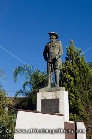 statue of Major Curt von François, founder of Windhoek in 1890, Windhoek, Namibia
