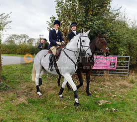 Lady Alice Manners at Belvoir Hunt Opening Meet 2018