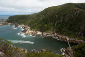 Boat trip, Storms River Suspension Bridge, Tsitsikamma, Garden Route National Park, South Africa