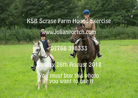 KSB Scrase farm Hound Exercise 26-08-18