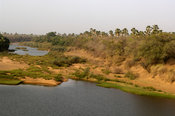 the Gambia river, Parc National de Niokolo-Koba, Senegal