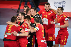 during the EHF EURO Croatia 2018 - Preliminary round -  Group C - Germany vs Montenegro in Arena Zagreb, Zagreb, Croatia, 13...