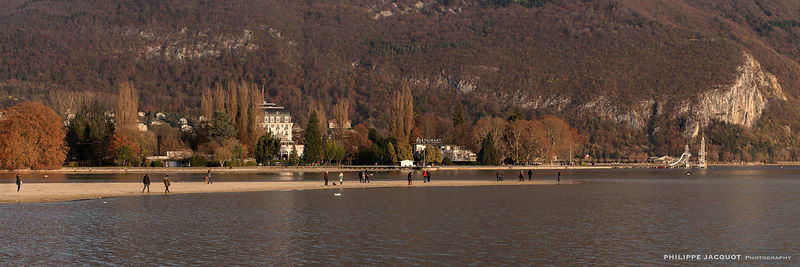The low water level of the lake on November 28, 2018 (3) - Annecy
