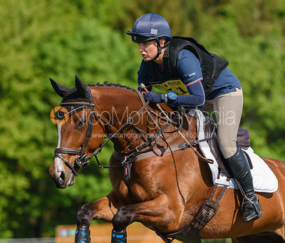 Jessica Watts and SPORTSFIELD RIO, Fairfax & Favor Rockingham Horse Trials 2018