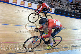 U17 Men Team Sprint 1-2 Final. Canadian Track Championships (Jr, U17, Para), April 14, 2019