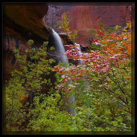 Twin Falls in the Fall