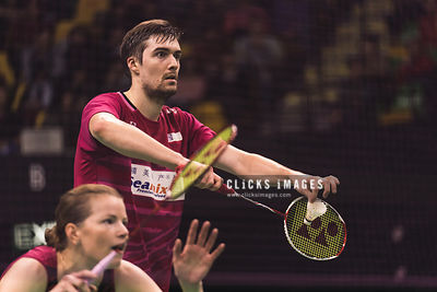 YONEX-SUNRISE Hong Kong Badminton Open Mixed Double Christinna Pedersen/Mathias Christiansen DEN v Liao Min Chun/Chen Hsiao H...