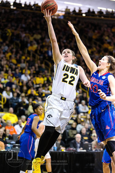 PC - WBB NCAA Iowa vs American