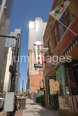 Dallas Stock Photos: Campisi's Italian Restaurant in downtown Dallas