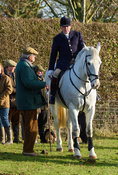 At the meet. The Cottesmore Hunt at Hill Top Farm 11/12