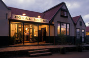 Royal hotel in Pilgrim's Rest, gold mining village from the 1870's is now a National Monument, Mpumalanga, South Africa
