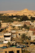 view over Siwa town, Siwa oasis, the Great Sand Sea, Western desert, Egypt