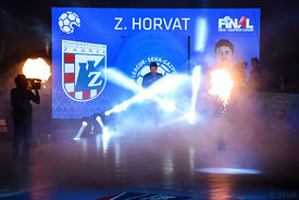 Zlatko Horvat during the Final Tournament - Final Four - SEHA - Gazprom league, Bronze Medal Match Meshkov Brest - PPD Zagreb...