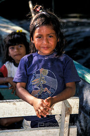 Young Ecuadorian Girl