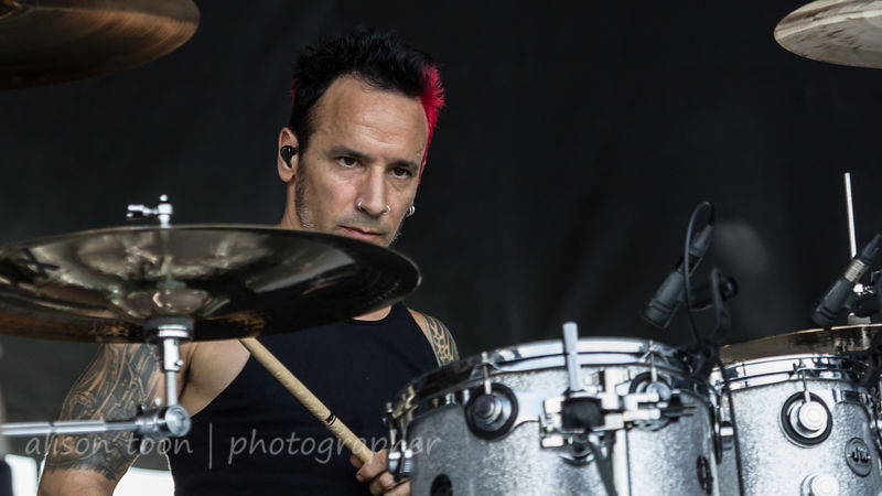 Roy Mayorga, drums, Ministry