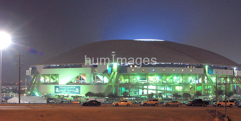 Outside Texas Stadium in their last Home Game Ever
