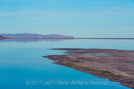 A Spit of Land on the Bonneville Salt Flats