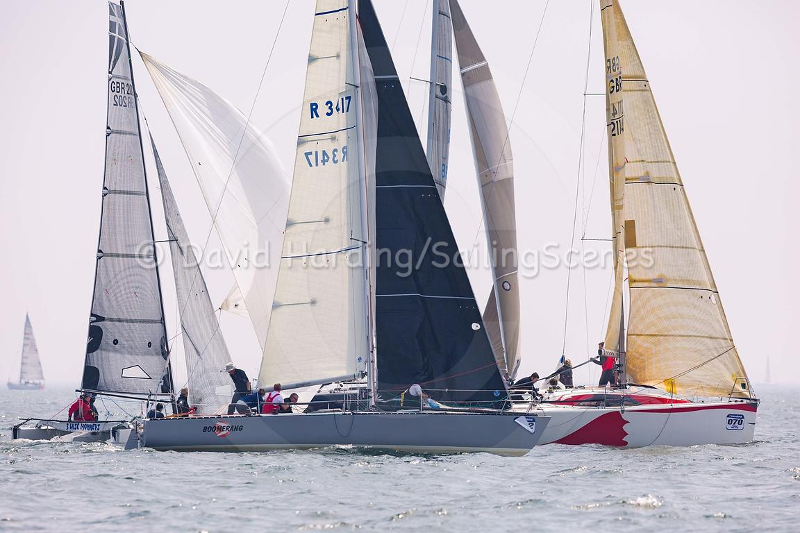 Boomerang, Adams 10 and Zorra 3, Archambault A31, Poole Regatta 2018, 20180526420