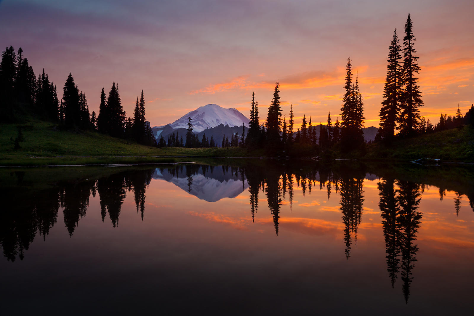 Tipsoo Lake Sunset #3