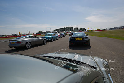Track Parade - The Aston Martin Centenary at the Silverstone Classic 2013