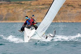 Mini Mayhem, GBR9063T, Melges 24, Weymouth Regatta 2018, 20180908718.
