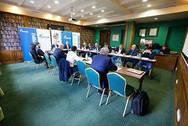 Meeting during the Final Tournament - Final Four - SEHA - Gazprom league, SEHA assembly in Brest, Belarus, 07.04.2017, Mandat...