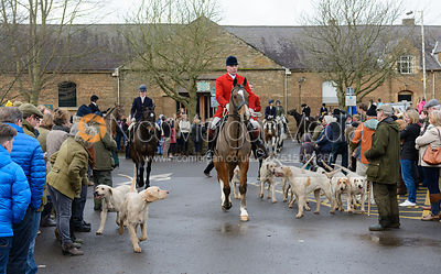 The Cottesmore Hunt in Oakham 26/12